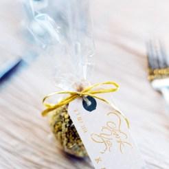 caramel apple wedding favor