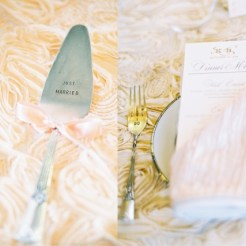 BHLDN printed cake server & forks