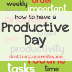 Priorities- build a productive day