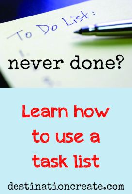 increase productivity with a to do list