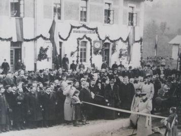 Цар Фердинанд открива линията Царева ливада - Габрово