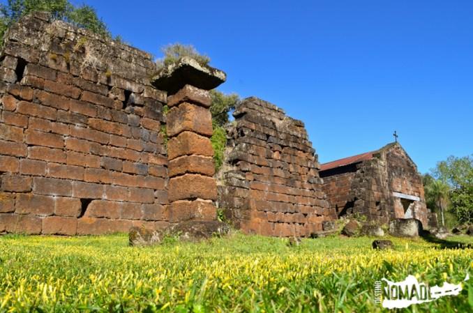 Ruinas de la misión de Santa María La Mayor