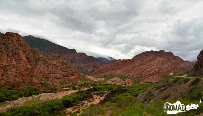 Quebrada de las Conchas, Valles Calchaquíes