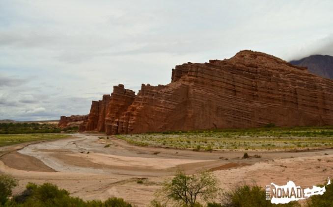 Los Castillos en Quebrada de las Conchas, Valles Calchaquíes