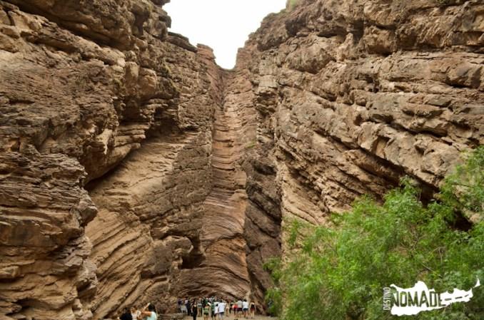 El Anfiteatro en la Quebrada de las Conchas, Valles Calchaquíes
