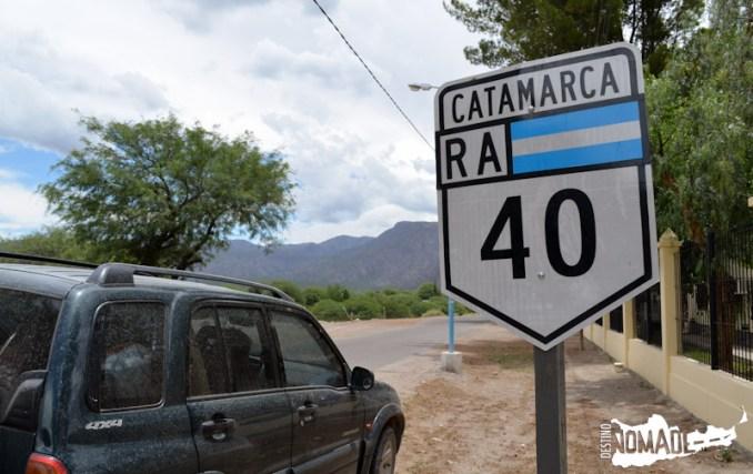 Ruta 40, Valles Calchaquíes
