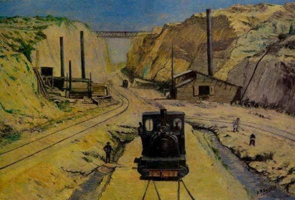 Εντυπωσιακή είναι η εικόνα που δείχνει ένα μικρό τρένο να διασχίζει τον Ισθμό. Γύρω από το τρένο υπάρχουν εργάτες που σκάβουν τη γη, αλλά και διάφορα οικοδομικά υλικά.... Διαβάστε όλο το άρθρο: http://www.mixanitouxronou.gr/aftin-tin-ikona-iche-to-megalitero-techniko-ergo-tis-elladas-dio-chronia-meta-tin-enarxi-ton-ergasion-i-prospathies-gia-to-schediasmo-ke-tin-oloklirosi-kratisan-sinolika-2-300-chronia/