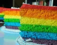 Kumpulan Resep Rainbow Cake Kukus Yang Mantap