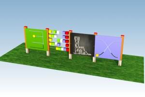 Interaktivní tabule na dětská hřiště.