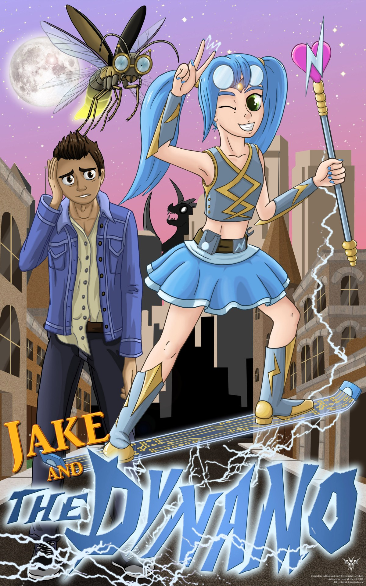 JAKE AND THE DYNAMO Chapter 17