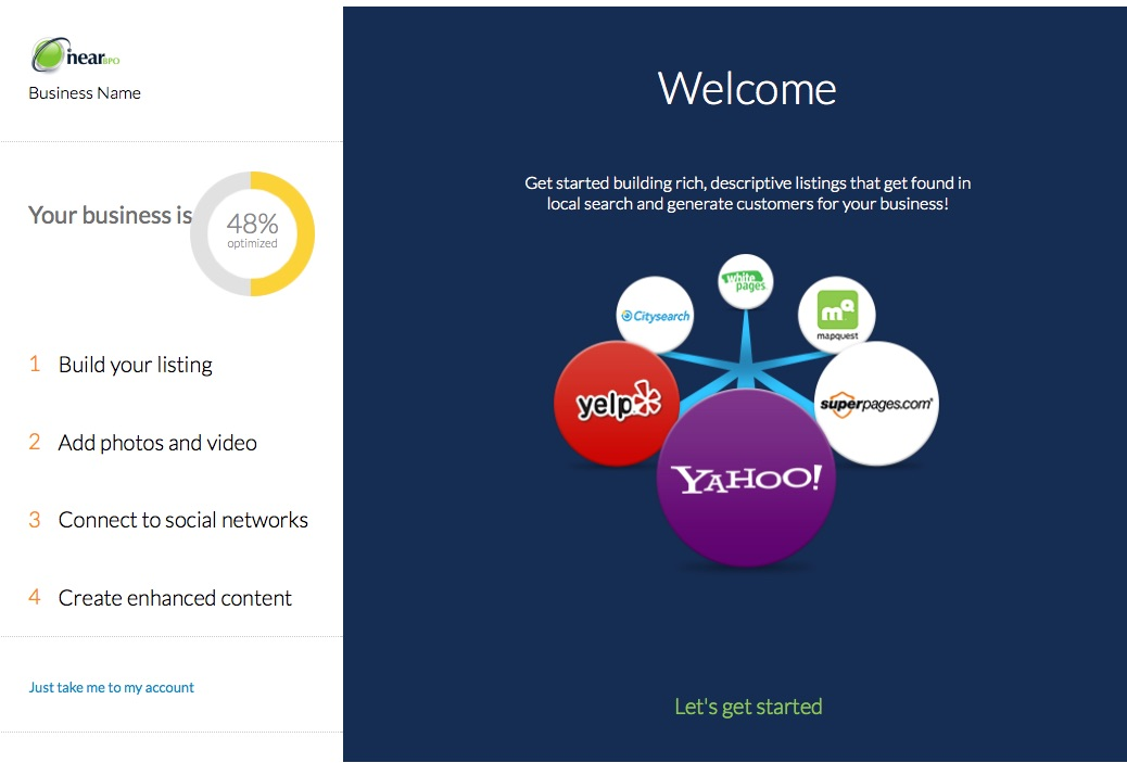 Onboarding Pages