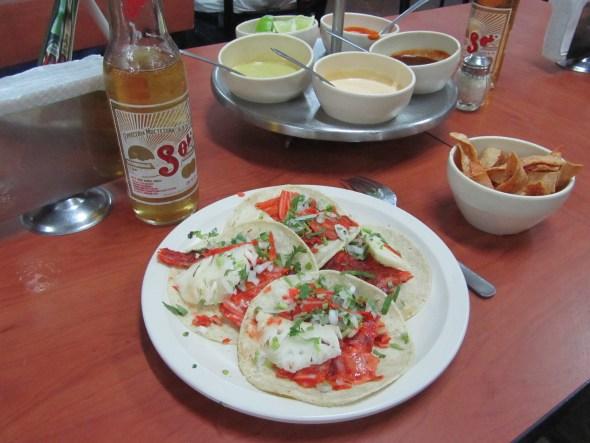 Tacos al pastor en Cuernavaca