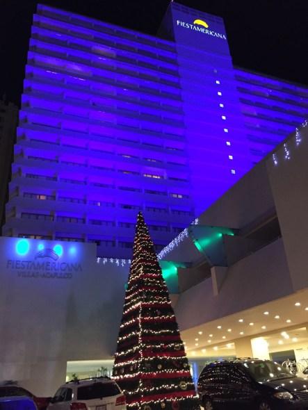 Hotel Fiesta Americana Villas de Acapulco en Navidad