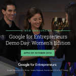 Announced: Google for Entrepreneurs Demo Day: Women's Edition