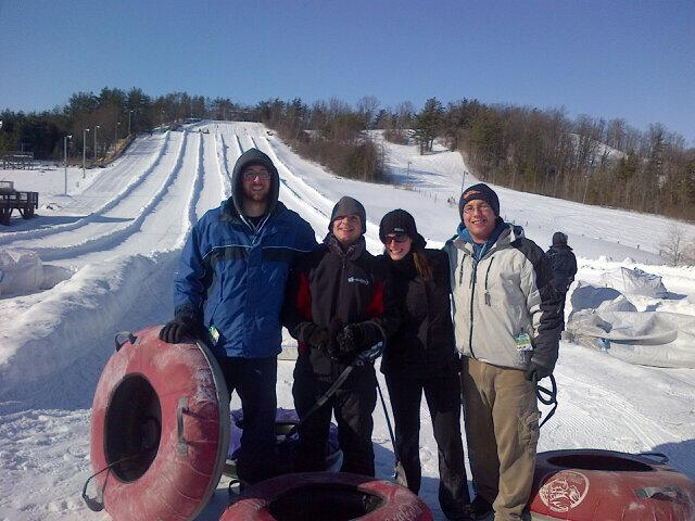 Snow Tubing with Team Magnet - Weekly Article Dump