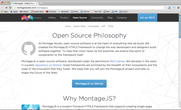 best CSS & HTML frameworks for designers and developers - montage