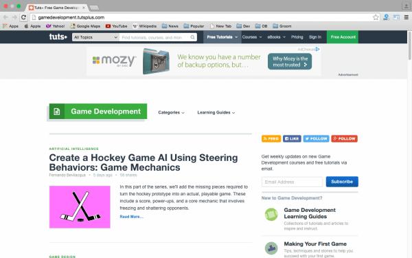 best online resources to learn about game development gamedev-tutsplus
