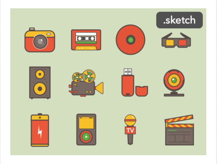 media-icons - best resources for web designers for 2015