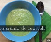 Rețetă supă cremă de broccoli – dieta Montignac