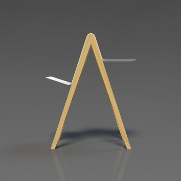 bookshelf magazine-rack coffee-table shelf design suria
