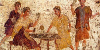 O popina din Pompei. Sursa Wikipedia.
