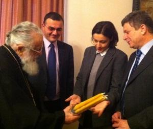 patriarch Ilia II - Yuval Fuchs - 2012-12-05