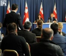 giorgi gakharia - appointed as business ombudsman 2013-02-19