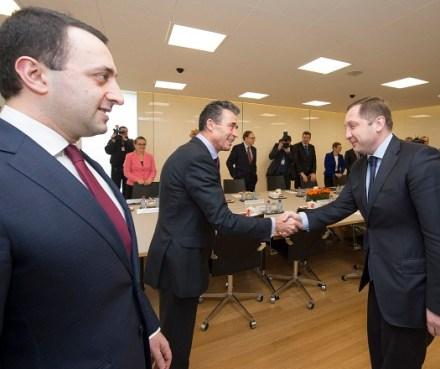 The Prime Minister of Georgia visits NATO