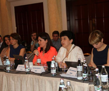 Presentation of the report at Tbilisi Marriott Hotel (GYLA)