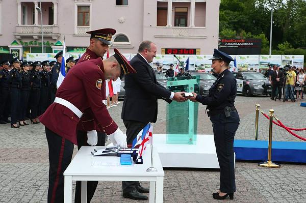 giorgi_margvelashvili_police_day
