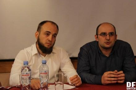 : Abdurrahman Pareulidze (left) and Revaz Koiava.