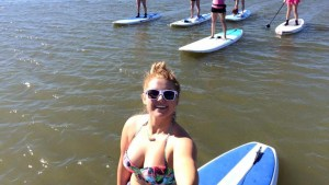 Winter Paddleboarding on Lake Grapevine with DFW Surf Club