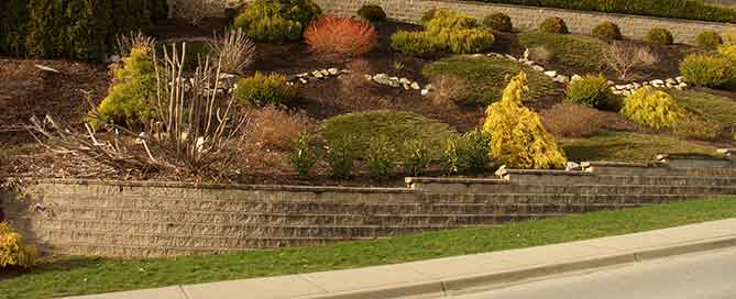 The Advantage of Retaining Walls