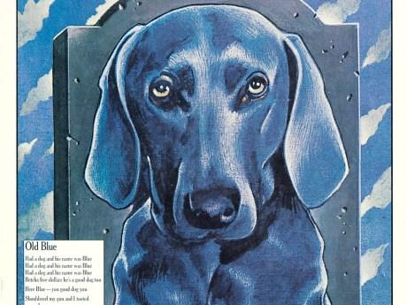 All Blue Issue, November: December 1979, no. 81 Seymour Chwast, New York, New York, 1979