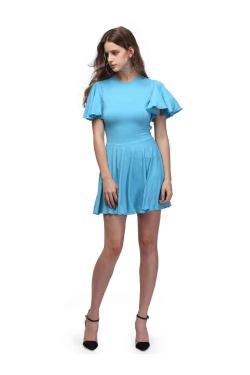 Small Of Powder Blue Dress