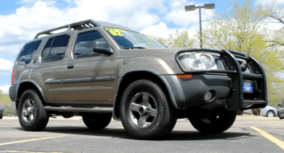 Pre-Owned Vehicle Spotlight- 2002 Nissan Xterra SE