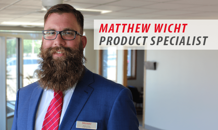 Meet Midway Monday  Matthew Wicht Product Specialist   Midway Auto     Today  we want to introduce you to our new employee  Matthew Wicht  who  will be a product specialist at Midway Chevrolet Buick GMC Cadillac