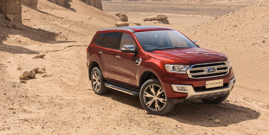Will The Ford Bronco Share A Body With Everest?
