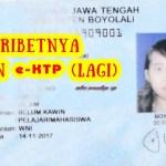 RIBETNYA BIKIN E-KTP (LAGI)