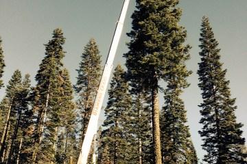 Tree & Landscaping Crane Rentals