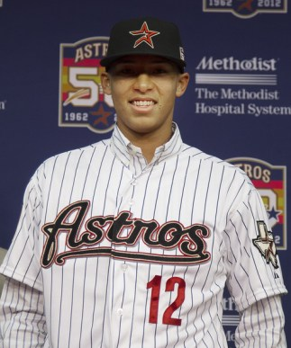 The future of the Astros, Carlos Correa.