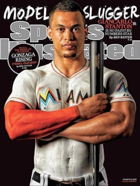 Sports Illustrated cover giancarlo stanton