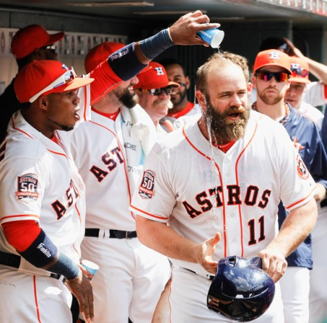 Evan+Gattis+Seattle+Mariners+v+Houston+Astros+4sju0YJZvJOl
