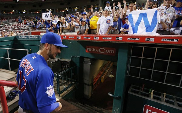 Kris Bryant makes MLB History in Cincinnati