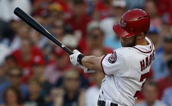 We can't not post one of Bryce Harper's longest home runs ever