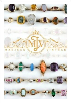 Visit our partner, Maejean Vintage, for lots of fabulous vintage and antique jewelry!