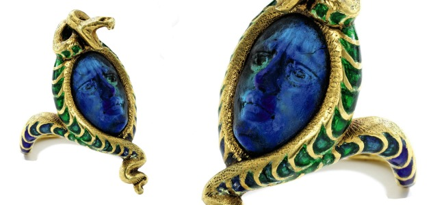 Darkly romantic jewels in Sotheby's September 22nd sale.