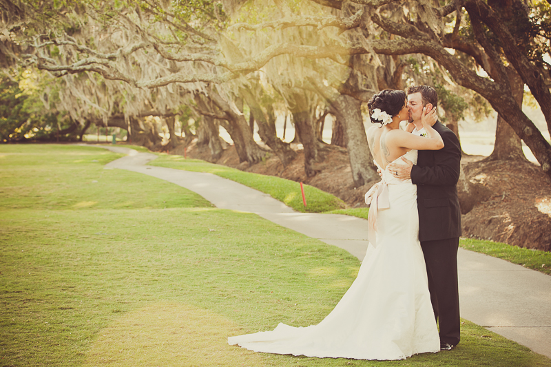 charleston wedding photography live oak trees