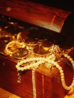 find hidden treasures when you press into God