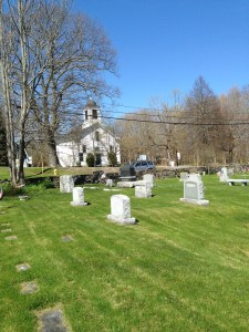 Captain Cutts and his family are buried in the Old Burying Ground across the street from his one-time home and the Congregational Church. A table-like memorial stone tells his story. (As you enter the cemetery, look to your left to see the Cutts memorial).